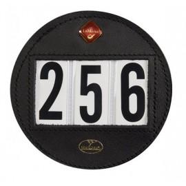 Numéro de départ en cuir