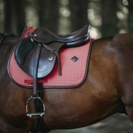 Tapis de CSO de Kentucky Colour Edition Leather - Corail