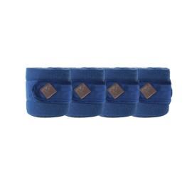 Kentucky Horsewear Bande de Polo Basic Velvet - Bleu Marine