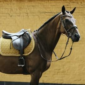 Kentucky Horsewear Tapis CSO Velvet - Moutarde