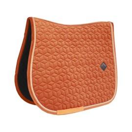 Kentucky Horsewear Tapis de CSO Velvet - Orange