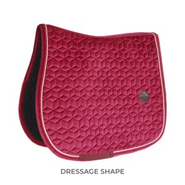 PRECOMMANDE - Kentucky Horsewear Tapis Dressage - Fuchsia