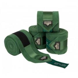 Bandes de Polo Luxury Lemieux- Hunter Green