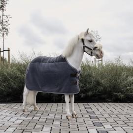 Kentucky Horsewear - Couverture Séchante Heavy Fleece Mini- Gris