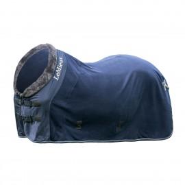 Lemieux Couverture Polaire - Bleu Marine
