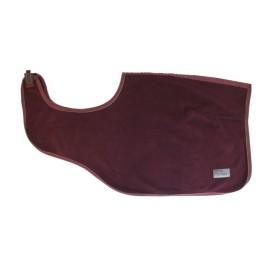 Kentucky Horsewear - Couvre-Reins Heavy Fleece - Bordeaux